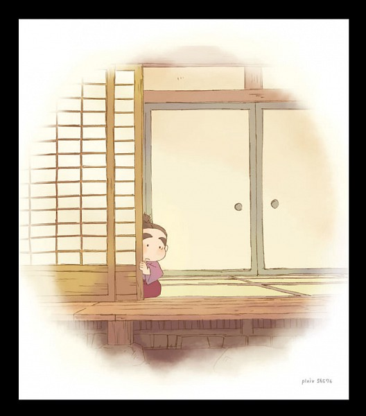 Tags: Anime, Pixiv Id 56576, Rakudai Ninja Rantarou, Fukutomi Shinbei, Fanart