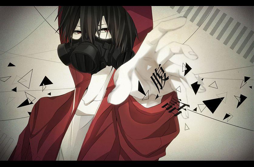 Tags: Anime, Pixiv Id 4231835, Fukuwa, Red Hoodie, PNG Conversion, Nico Nico Singer, Pixiv