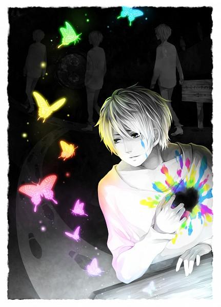 Tags: Anime, Teinpomu, Fukuwa, Foot Print, Pixiv, Fanart, Nico Nico Douga, Mobile Wallpaper, Nico Nico Singer