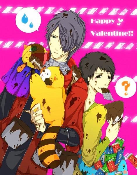Tags: Anime, Pixiv Id 2656764, Araiguma Rascal, Fukuwa, Rascal, Aerogel, Chocolate Bar, To Rock River, Nico Nico Singer