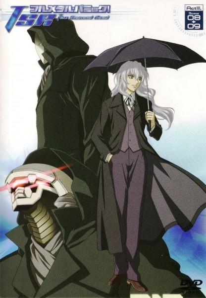 Tags: Anime, GONZO (Studio), Full Metal Panic!, Leonard Testarossa, Scan, DVD (Source), Official Art