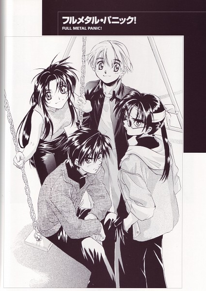 Tags: Anime, Shiki Douji, GONZO (Studio), Full Metal Panic!, Colorful Wind (artbook), Chidori Kaname, Issei Tsubaki, Sagara Sousuke