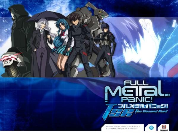 Tags: Anime, Full Metal Panic!, Sagara Sousuke, Chidori Kaname, Leonard Testarossa, Melissa Mao, Wallpaper
