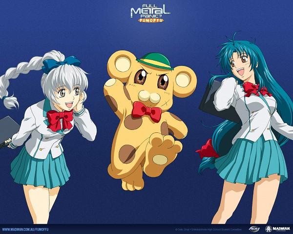 Tags: Anime, GONZO (Studio), Full Metal Panic!, Chidori Kaname, Teletha