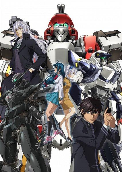 Tags: Anime, Full Metal Panic!, Chidori Kaname, Leonard Testarossa, Teletha