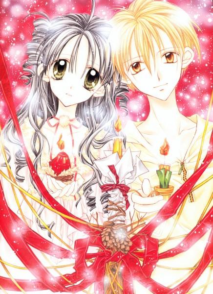 Tags: Anime, Tanemura Arina, Full Moon wo Sagashite, Koyama Mitsuki, Sakurai Eichi, Mobile Wallpaper, Official Art, Searching For The Full Moon