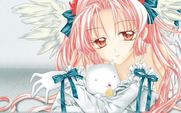 Tags: Anime, Full Moon wo Sagashite, Meroko Yui, Kira Takuto, Colorization, Wallpaper, Vector