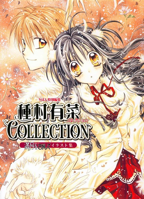 Tags: Anime, Tanemura Arina, Full Moon wo Sagashite, Full Moon Wo Sagashite Illustration Collection, Koyama Mitsuki, Sakurai Eichi, Artbook Cover, Official Art, Scan