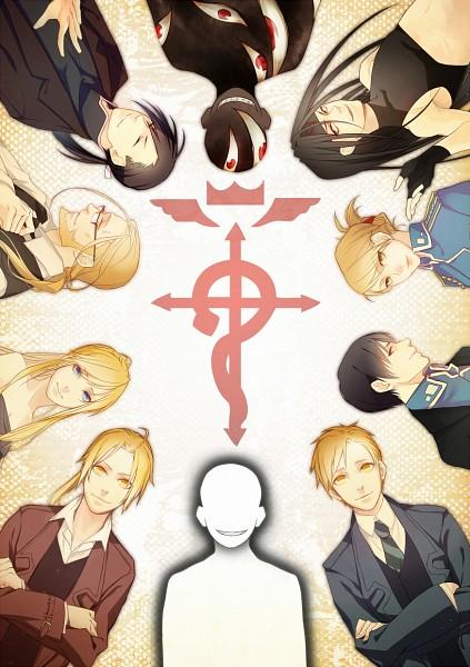 Tags: Anime, Kintaroubeta, Fullmetal Alchemist Brotherhood, Fullmetal Alchemist, Roy Mustang, Selim Bradley, Ling Yao, Edward Elric, Van Hohenheim, Winry Rockbell, Pride (FMA), Riza Hawkeye, Envy (FMA)