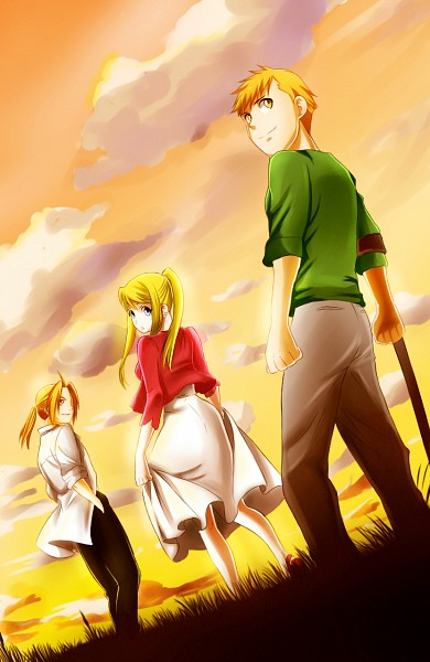 Tags: Anime, Fullmetal Alchemist, Fullmetal Alchemist Brotherhood, Edward Elric, Winry Rockbell, Alphonse Elric