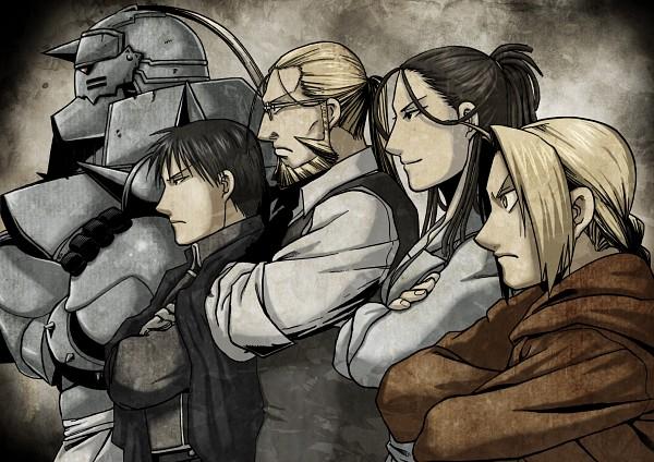 Tags: Anime, Arakawa Hiromu, Fullmetal Alchemist, Alphonse Elric, Roy Mustang, Edward Elric, Van Hohenheim, Izumi Curtis