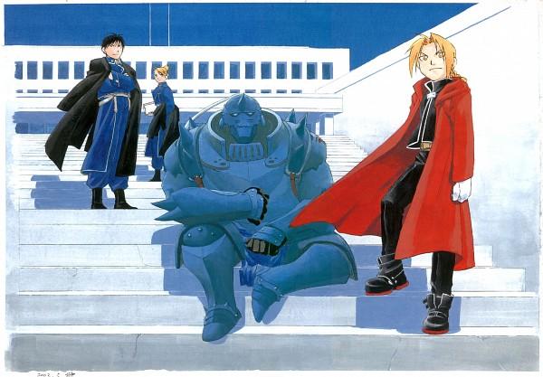 Tags: Anime, Fullmetal Alchemist, Riza Hawkeye, Alphonse Elric, Roy Mustang, Edward Elric