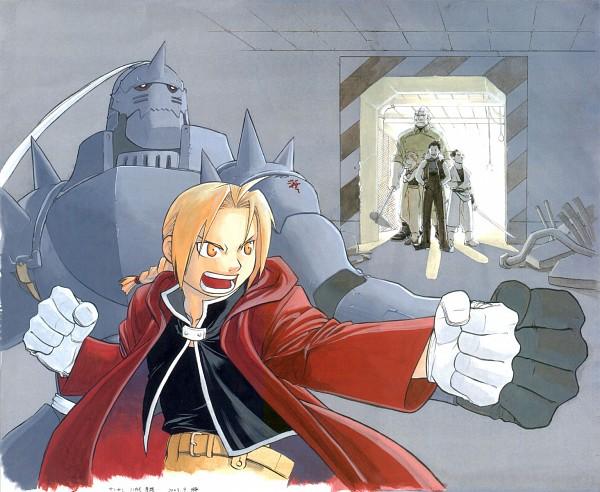 Tags: Anime, Fullmetal Alchemist, Alphonse Elric, Edward Elric, Martel (Chimera), Greed (FMA), Homunculi