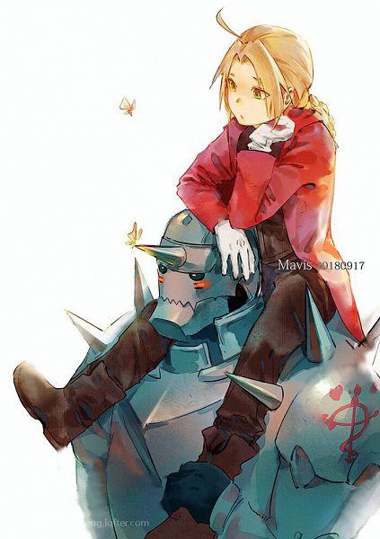 Tags: Anime, Pixiv Id 9626402, Fullmetal Alchemist, Fullmetal Alchemist Brotherhood, Alphonse Elric, Edward Elric, Fanart From Pixiv, Fanart, Pixiv