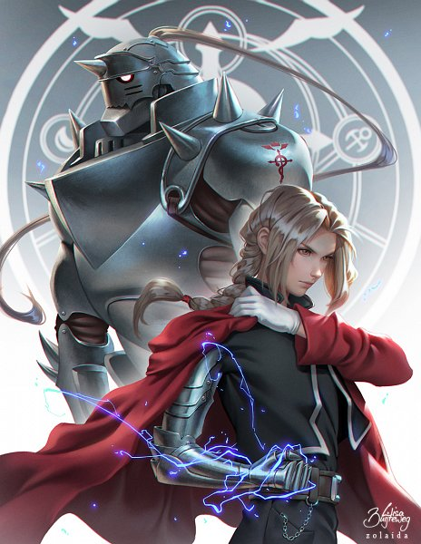 Tags: Anime, Zolaida, Fullmetal Alchemist, Fullmetal Alchemist Brotherhood, Alphonse Elric, Edward Elric, Prosthesis, Mechanical Arm