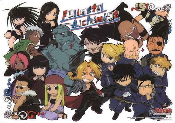 Tags: Anime, Fullmetal Alchemist, Gluttony (FMA), Alphonse Elric, Pride (FMA), Envy (FMA), Roy Mustang, Greed (FMA), Wrath (Fma 2003), Lust (FMA), Maria Ross, Edward Elric, Alex Louis Armstrong