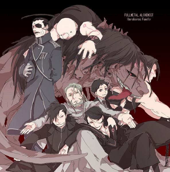 Tags: Anime, SQUARE ENIX, Fullmetal Alchemist, Fullmetal Alchemist Brotherhood, Envy (FMA), Sloth (FMA), Pride (FMA), Ling Yao, Selim Bradley, Wrath (FMA), Lust (FMA), Father (FMA), Gluttony (FMA)