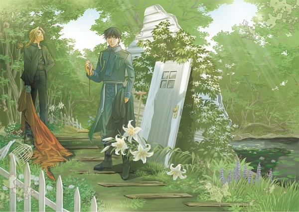 Tags: Anime, Pixiv Id 306910, SQUARE ENIX, Fullmetal Alchemist, Fullmetal Alchemist Brotherhood, Roy Mustang, Edward Elric, Pixiv