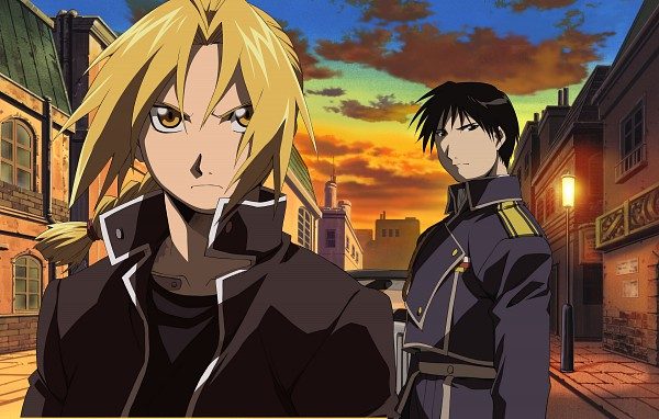 Tags: Anime, SQUARE ENIX, Fullmetal Alchemist Brotherhood, Fullmetal Alchemist, Roy Mustang, Edward Elric, Official Art