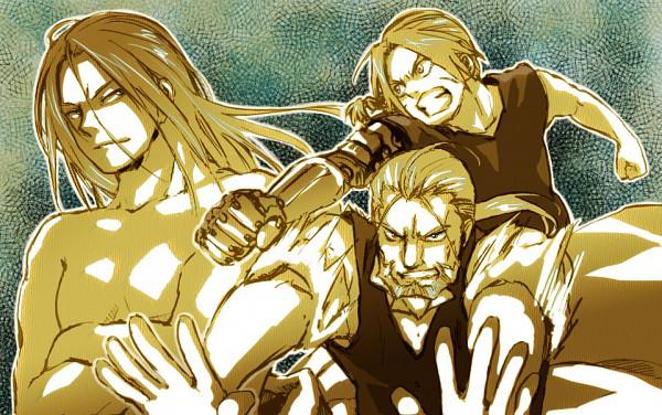 Tags: Anime, Mattsu, SQUARE ENIX, Fullmetal Alchemist, Van Hohenheim, Father (FMA), Edward Elric, Fanart