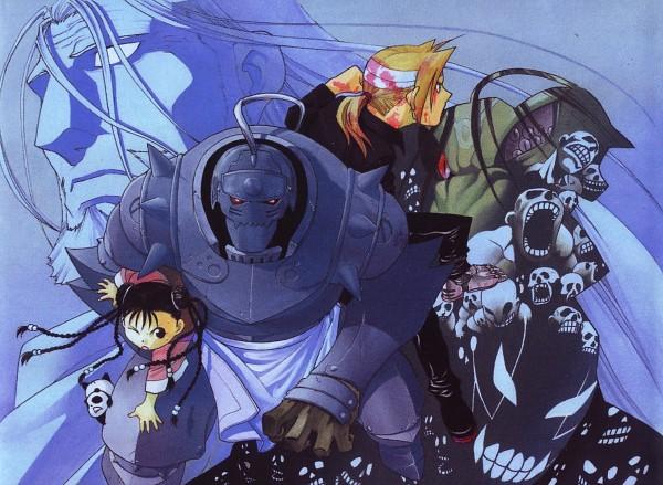 Tags: Anime, Arakawa Hiromu, Fullmetal Alchemist, Fullmetal Alchemist Brotherhood, May Chang, Edward Elric, Greed (FMA), Envy (FMA), Father (FMA), Alphonse Elric, Homunculi