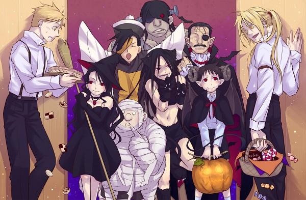 Tags: Anime, Nagi Yusura, Fullmetal Alchemist Brotherhood, Fullmetal Alchemist, Greed/Greeling, Sloth (FMA), Ling Yao, Alphonse Elric, Pride (FMA), Lust (FMA), Edward Elric, Gluttony (FMA), Envy (FMA)