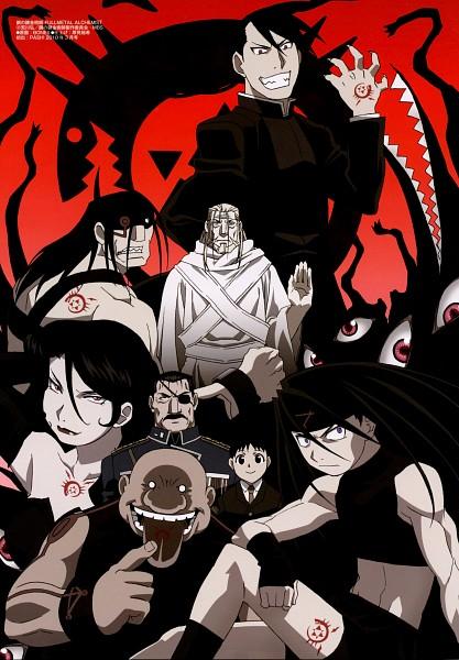 Tags: Anime, Fullmetal Alchemist, Fullmetal Alchemist Brotherhood, Lust (FMA), Father (FMA), Gluttony (FMA), Greed/Greeling, King Bradley, Envy (FMA), Sloth (FMA), Pride (FMA), Ling Yao, Selim Bradley