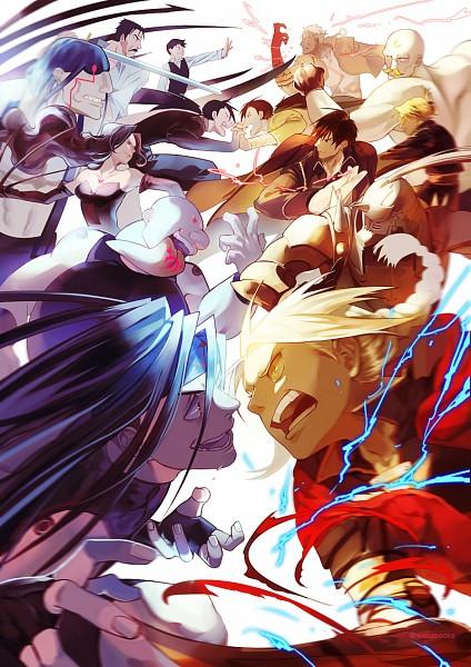 Tags: Anime, Waka (Pixiv1970032), Fullmetal Alchemist, Fullmetal Alchemist Brotherhood, Lust (FMA), Sloth (FMA), Edward Elric, Gluttony (FMA), Pride (FMA), Envy (FMA), Riza Hawkeye, Alex Louis Armstrong, Greed/Greeling