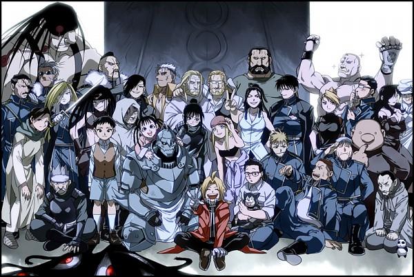 Tags: Anime, Mee, Fullmetal Alchemist, Fullmetal Alchemist Brotherhood, Ling Yao, Heymans Breda, Van Hohenheim, Alphonse Elric, Wrath (FMA), Pride (FMA), Selim Bradley, Lust (FMA), Sig Curtis