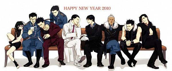 Tags: Anime, SQUARE ENIX, Fullmetal Alchemist, Fullmetal Alchemist Brotherhood, Roy Mustang, Miles, Envy (FMA), Frank Archer, Ling Yao, Greed/Greeling, Maes Hughes, Solf J. Kimblee, Greed (FMA)