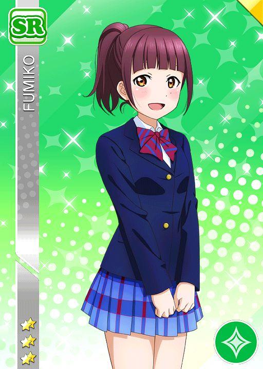 Fumiko (Love Live!) - Love Live!