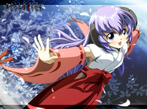Tags: Anime, Urushi-san, 07th Expansion, Higurashi no Naku Koro ni Kai, Higurashi no Naku Koro ni, Furude Hanyuu, Pixiv, Fanart From Pixiv, Fanart