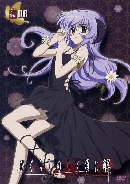 Tags: Anime, Sakai Kyuuta, Studio DEEN, Higurashi no Naku Koro ni, Higurashi no Naku Koro ni Kai, Furude Hanyuu, DVD (Source), Official Art, Scan, Mobile Wallpaper