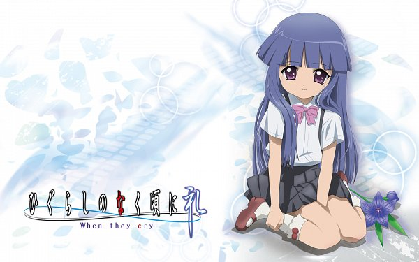 Tags: Anime, Oka Mariko, 07th Expansion, Higurashi No Naku Koro Ni Rei, Higurashi no Naku Koro ni, Furude Rika, Wallpaper