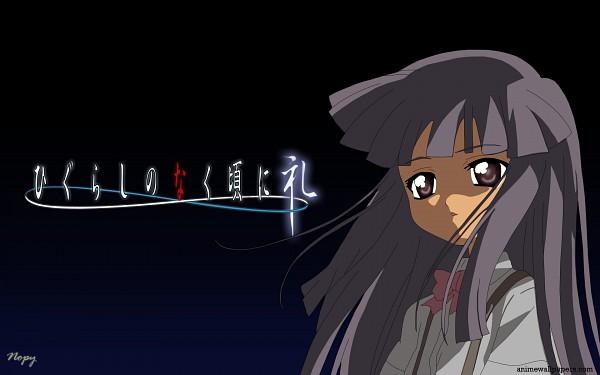Tags: Anime, Studio DEEN, 07th Expansion, Higurashi No Naku Koro Ni Rei, Higurashi no Naku Koro ni, Furude Rika, Wallpaper, Artist Request
