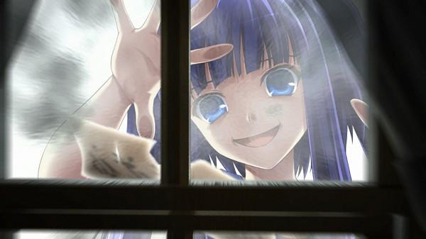 Tags: Anime, 07th Expansion, Umineko no Naku Koro ni, Furudo Erika, Facebook Cover, CG Art, Ougon Musou Kyoku