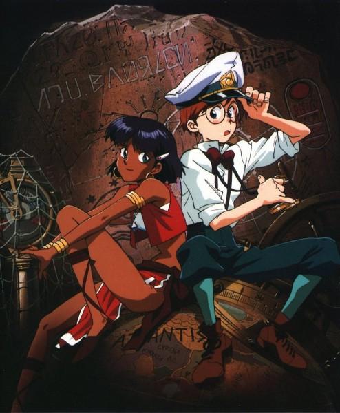 Tags: Anime, Fushigi no Umi no Nadia, Alpha Illustrated Collection, Nadia la Arwall, Jean Roque Lartigue, Official Art, Nadia: The Secret Of Blue Water