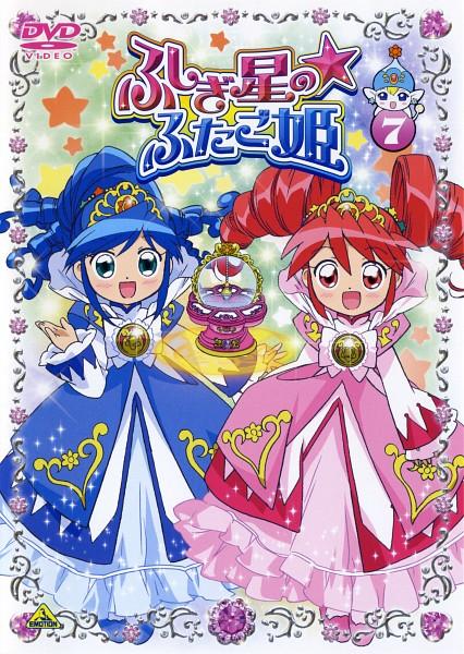 Tags: Anime, Fushigiboshi no☆Futagohime, Fine, Rein, Poomo, Gown, Official Art, Scan, DVD (Source)