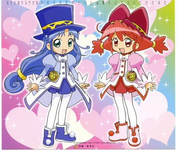 Tags: Anime, Fushigiboshi no☆Futagohime, Fine, Rein, Scan, Official Art