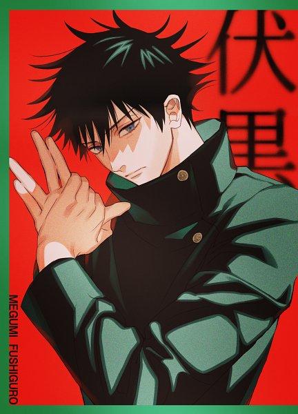 Tags: Anime, Pixiv Id 4838480, Jujutsu Kaisen, Fushiguro Megumi, Fanart From Pixiv, Pixiv, Fanart