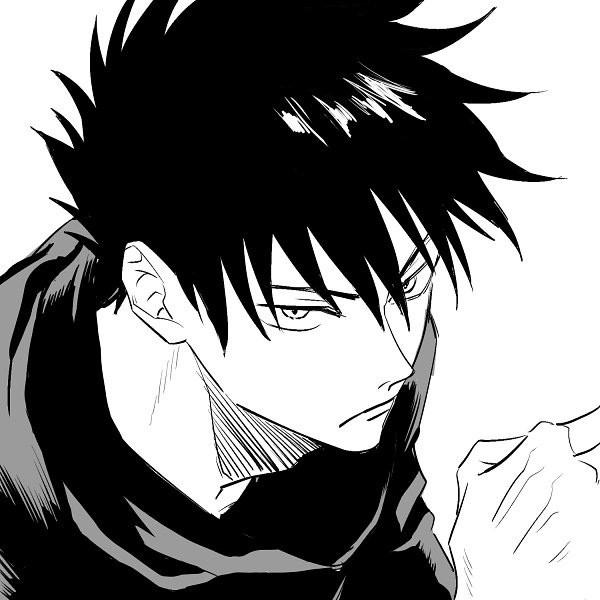 Tags: Anime, Pixiv Id 1527793, Jujutsu Kaisen, Fushiguro Megumi, Fanart From Pixiv, Pixiv, Fanart