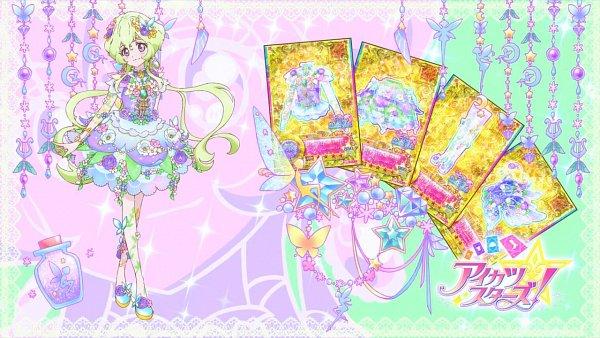 Tags: Anime, Aikatsu Stars!, Futaba Aria, Eyecatcher, Wallpaper, Aria Futaba