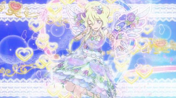Tags: Anime, Aikatsu Stars!, Aikatsu On Parade!, Futaba Aria, Pirouette Of The Forest Sky, Screenshot