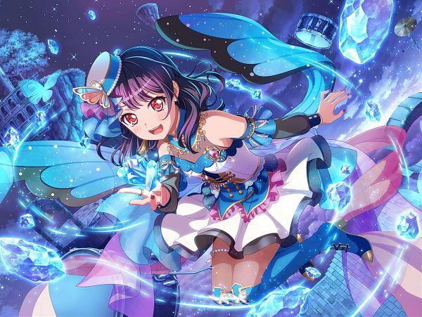 Tags: Anime, Craft Egg, BanG Dream! Girls Band Party!, Futaba Tsukushi, Official Card Illustration, Official Art
