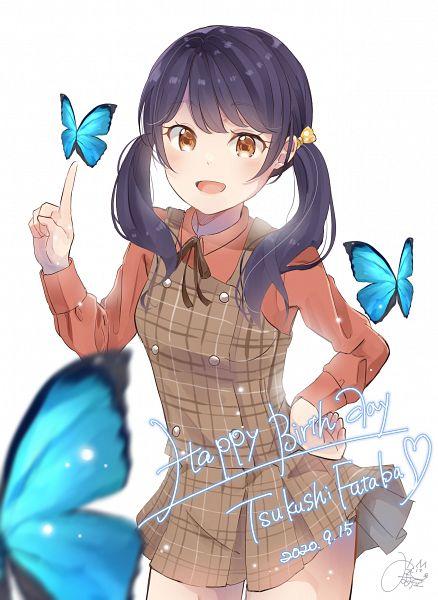 Tags: Anime, Pixiv Id 16404789, BanG Dream! Girls Band Party!, Futaba Tsukushi, Pixiv, Fanart, Fanart From Pixiv