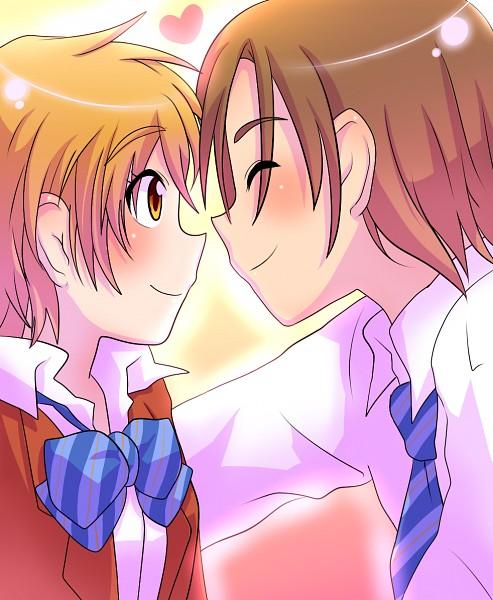 Tags: Anime, Pixiv Id 1036011, Futari wa Precure, Misumi Nagisa, Fujimura Shougo, Pixiv, Fanart