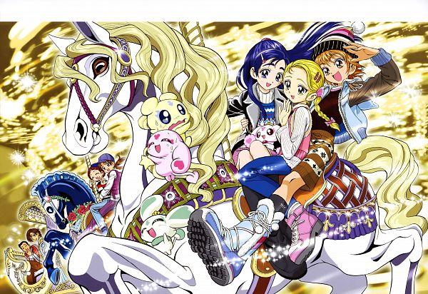 Tags: Anime, Kamikita Futago, Toei Animation, Futari wa Precure, Takashimizu Rina, Misumi Nagisa, Mepple, Yukishiro Honoka, Lulun, Mipple, Kimata (Precure), Fujimura Shougo, Porun