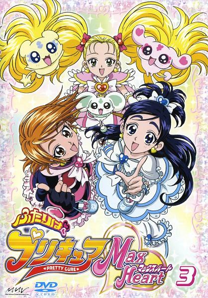 Tags: Anime, Futari wa Precure, Mipple, Misumi Nagisa, Cure Black, Porun, Yukishiro Honoka, Shiny Luminous, Cure White, Mepple, Kujo Hikari, DVD (Source), Scan
