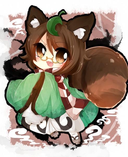 Tags: Anime, Pixiv Id 6993449, Touhou, Futatsuiwa Mamizou, Leaf On Head, Object On Head, Fanart From Pixiv, PNG Conversion, Pixiv, Fanart, Mamizou Futatsuiwa