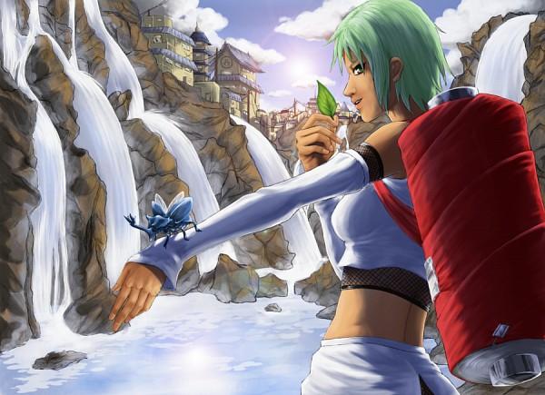 Tags: Anime, Yukiria, NARUTO, Fuu (NARUTO), Waterfall, Beetle, deviantART, Jinchuuriki